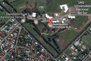 Imagen del edificio del DCA en Google maps