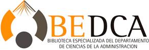 Biblioteca Especializada del Departamento de Ciencias de la Administración